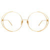 Linda Farrow Farah C9 Round Optical Frame