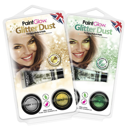 Cosmetic Glitter Dust Multi-Pack