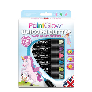 Unicorn Chunky Glitter Stick Multi-Pack