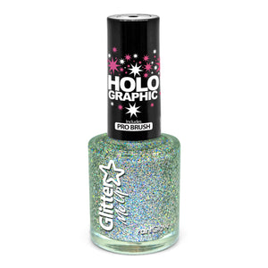 Holographic Glitter Nail Polish, 10ml