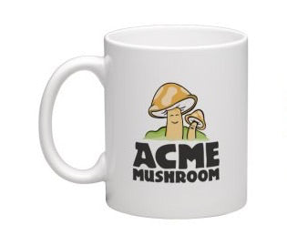 Acme Mushrooms Mug