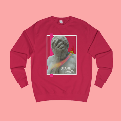 Stare Away Ancient Modern Sweatshirt [EXCLUSIVE]