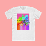 Augmented Rainbow Cotton Crew Tee