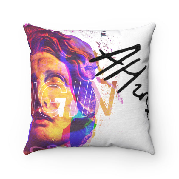 Origin Distressed Throw Pillow [SPECIAL]