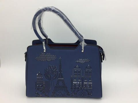 Image of Two handle bag secured with zip