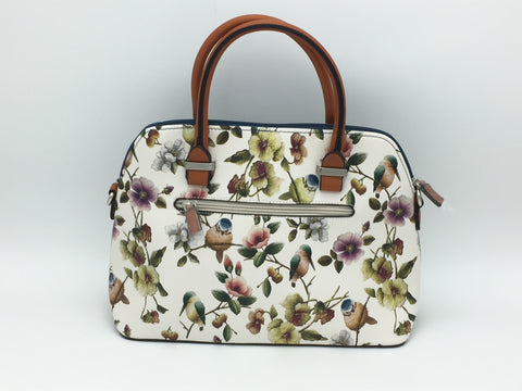 David Jones floral print shoulder bag