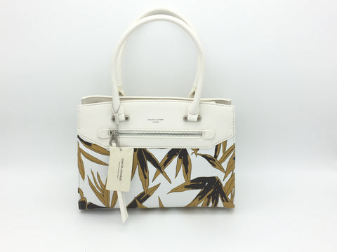 David Jones floral pattern shoulder bag - Long strap included