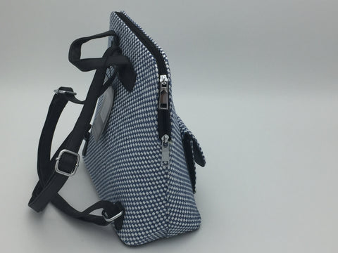 Image of Plaited detail backpack