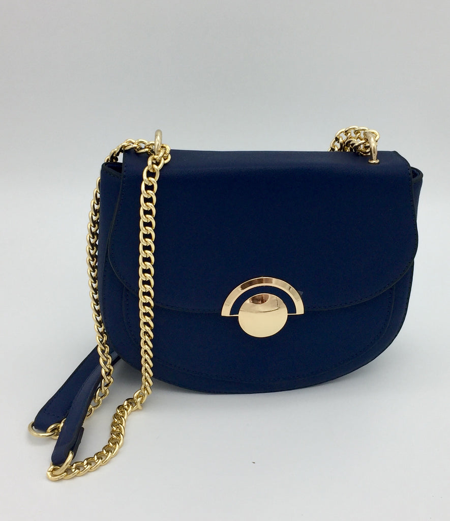 Flap PU chain bag
