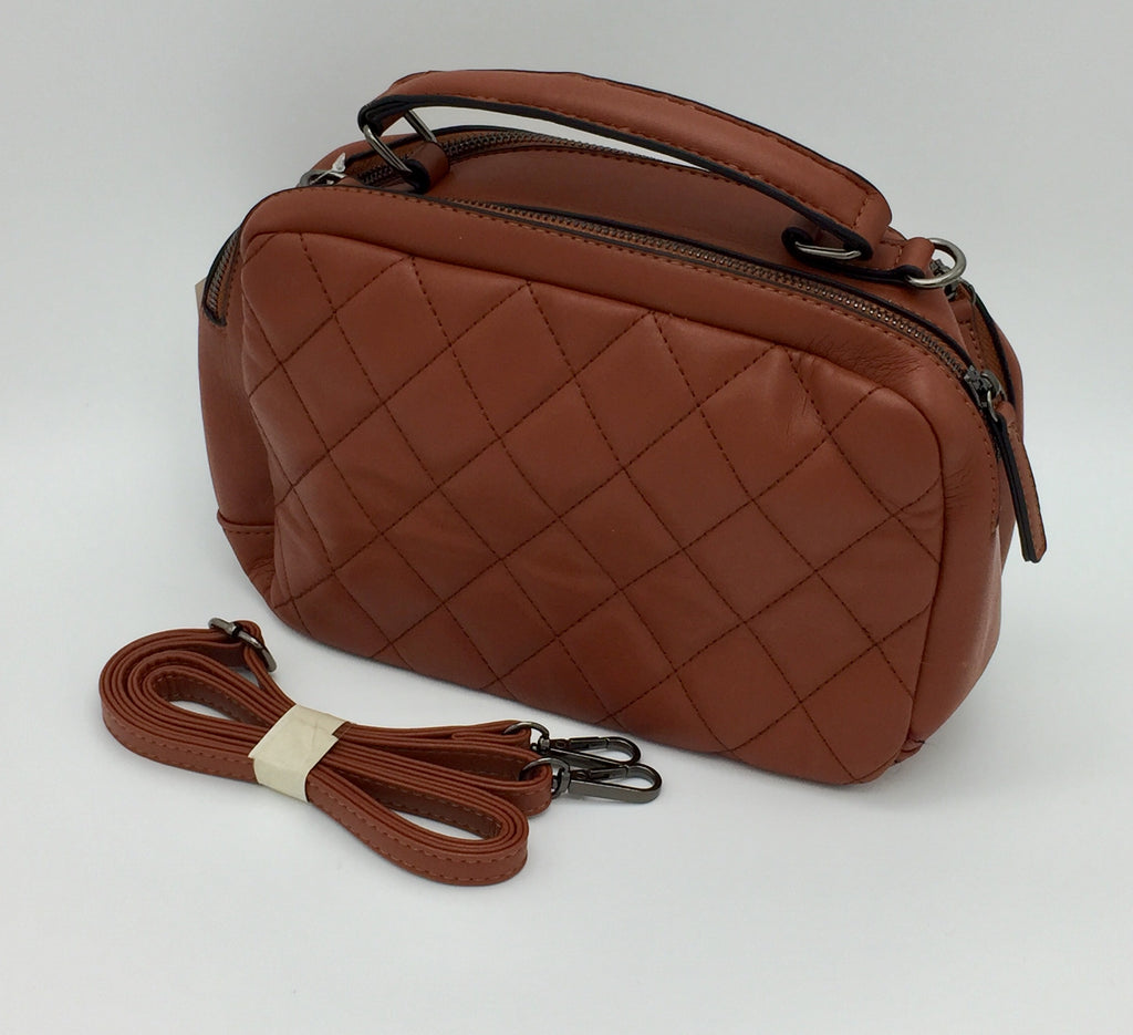 Quilted sidebags