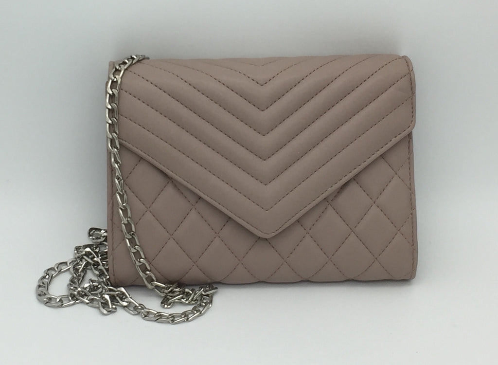 Quilted chain sidebags
