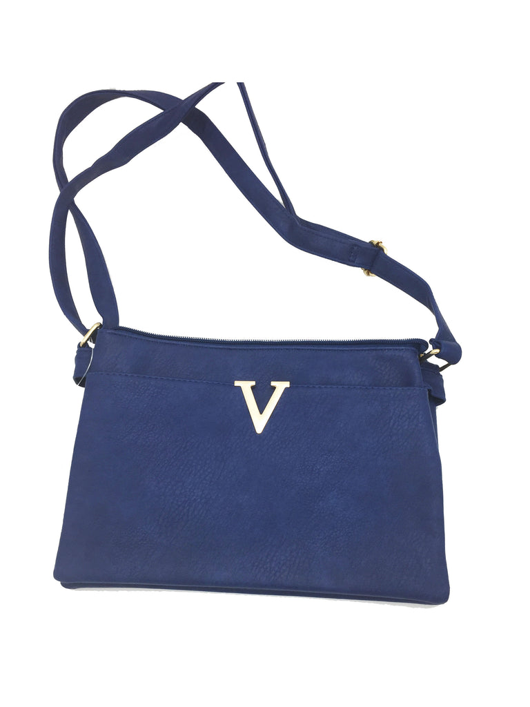 V cut detail side bag