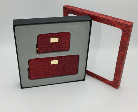 Image of Croc Embossed Purses