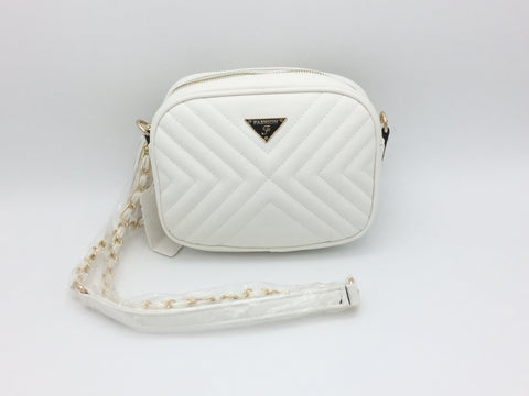 Image of Quilted Cross body bag with tassel detail