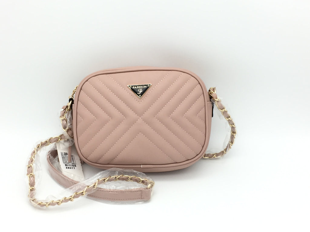 Quilted Cross body bag with tassel detail