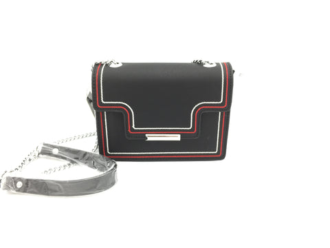 Image of Gallantry PU flap crossbody bag