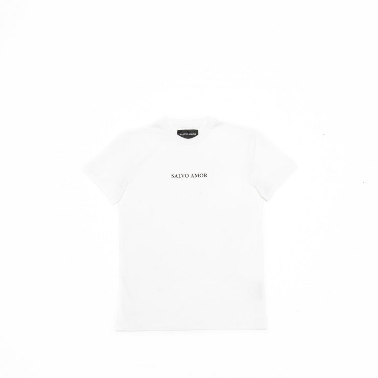 SALVO AMOR SIGNATURE TEE WHITE
