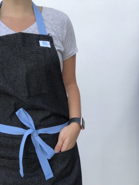 Black and Blue Apron - Alexanto Aprons