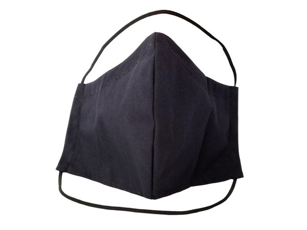"Face Mask with Filter Pocket ""Ear-Free"""