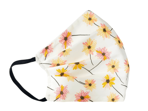 Face Mask Pink Daisy - Alexanto Aprons