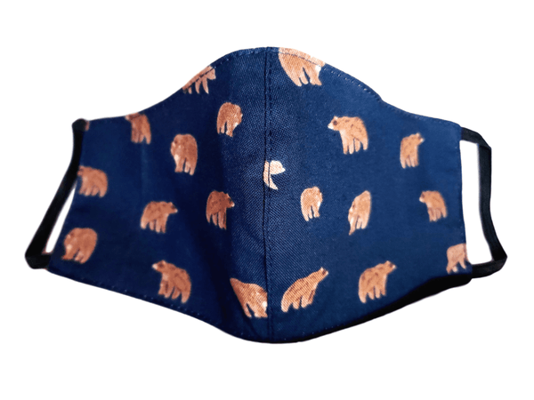 "Kid's Face Mask ""Bears"" 3 pack - Alexanto Aprons"