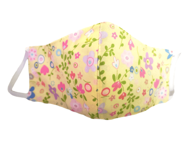 "Kid's Face Mask ""Kid's Flowers"" 3 pack - Alexanto Aprons"