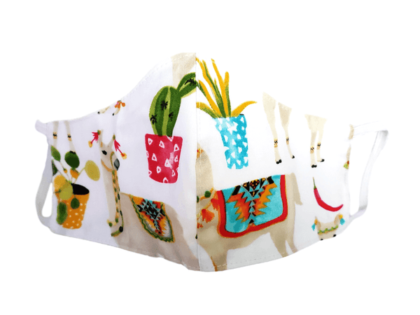 "Kid's Face Mask ""Llama"" 3 pack - Alexanto Aprons"