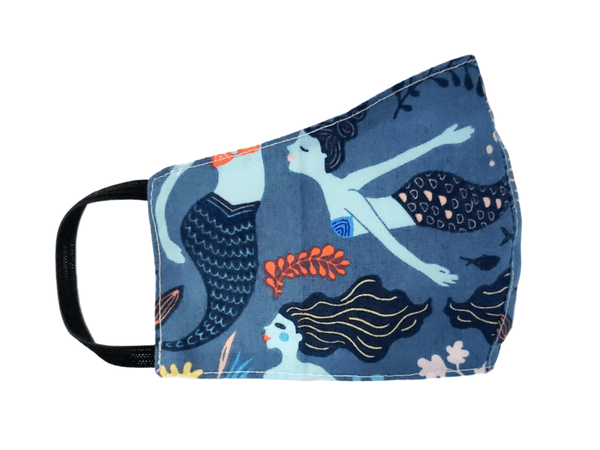 "Kid's Face Mask ""Mermaid"" 3 pack - Alexanto Aprons"