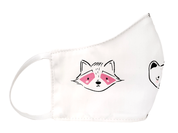 "Kid's Face Mask ""Woodland"" 3 pack - Alexanto Aprons"