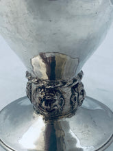 Load image into Gallery viewer, English Sterling Arts and Crafts Goblet, Ramsden and Carr, London, 1901