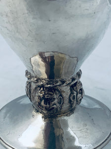 English Sterling Arts and Crafts Goblet, Ramsden and Carr, London, 1901