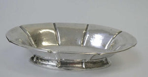 Danish Silver Beaten Bowl, 1924