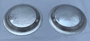 Small Pair of Arabic Silver Dishes, Egypt, 1941-43
