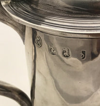 Load image into Gallery viewer, Queen Anne Britannia Standard Silver Tankard, William GAMBLE, London, 1709