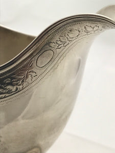 Scottish Sterling Silver Cream Jug, William & Patrick CUNNINGHAM, Edinburgh c. 1790