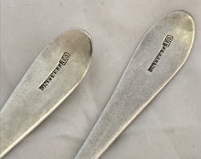 Load image into Gallery viewer, Pair of Irish Provincial Table Spoons, Carden TERRY, Cork, 1790