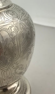 Indian Silver Ewer, ARLINGTON & Co, Calcutta, c.1880s