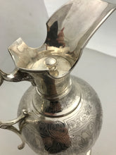 Load image into Gallery viewer, Indian Silver Ewer, ARLINGTON & Co, Calcutta, c.1880s