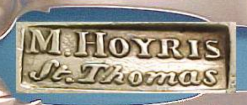 WANTED TO BUY - 'M.Hoyris', 'St.Thomas'