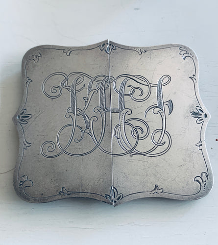 South Australian Sterling Buckle, SUHARD & Co, Adelaide, c. 1900