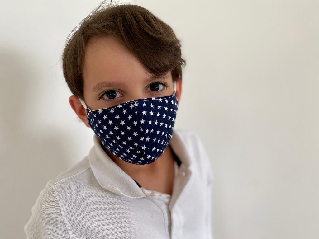 Stars Kids Washable Face Barrier Masks (New Unisex Product)