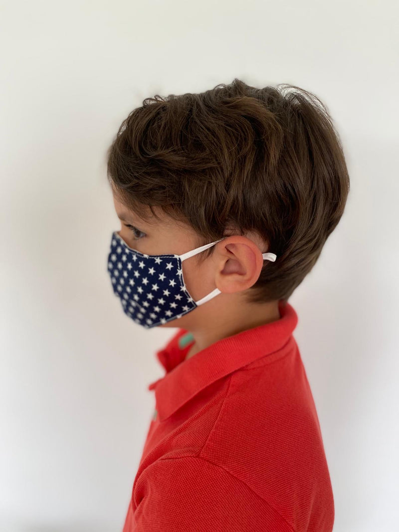 Stars Kids Washable Face Barrier Masks (Unisex)