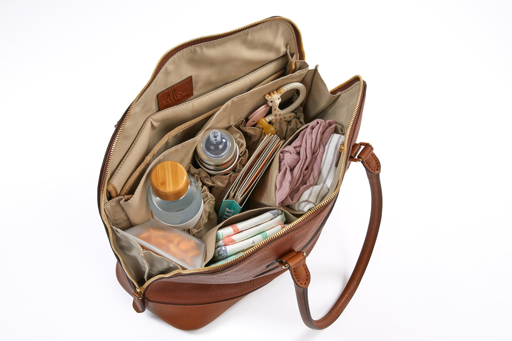 What makes a purse a diaper bag?