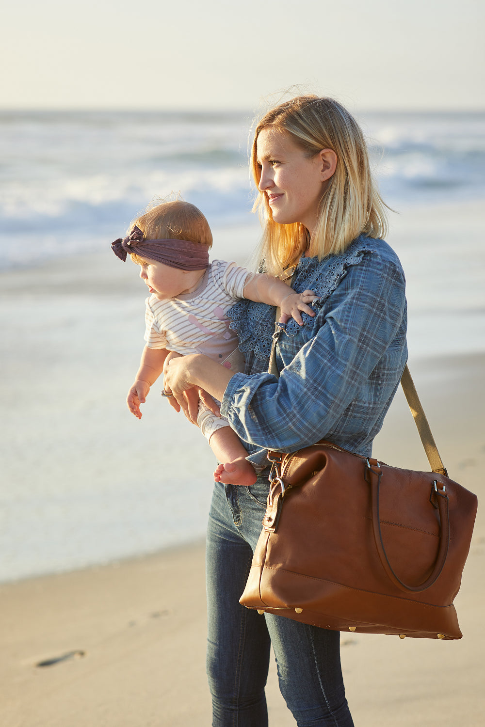 Why a Leather Diaper Bag?