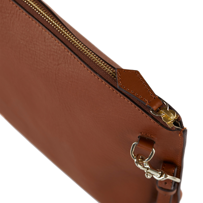 The Classic Cross-Body Bag in Caramel