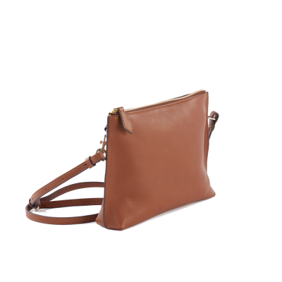 The Classic Cross-Body Bag in Natural