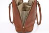 Amelie Leather Diaper Bag in Caramel