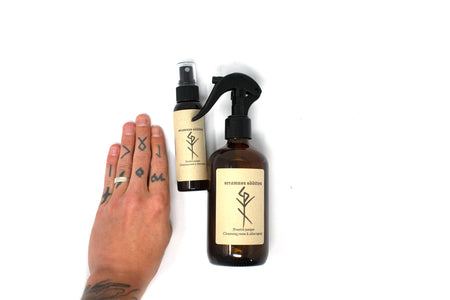 Cleansing room & altar spray - frosted juniper