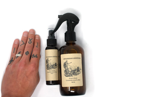Image of Cleansing room & altar spray - Freya's blend