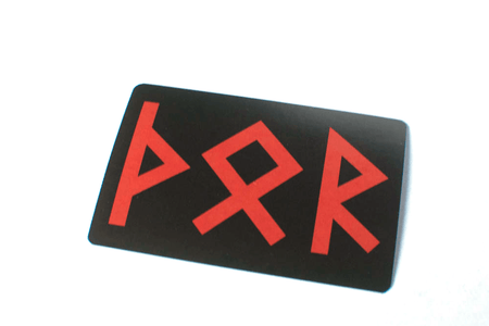 runic Thor sticker - Oreamnos Oddities